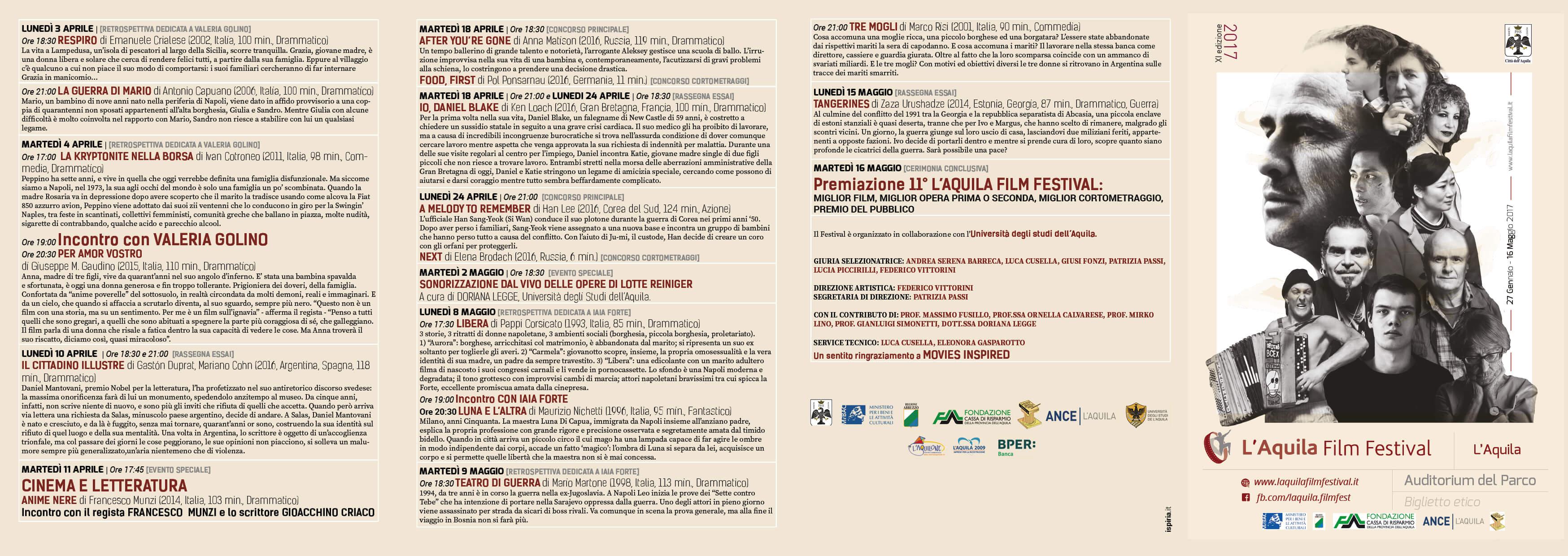 pieghevole aquila film festival 0703